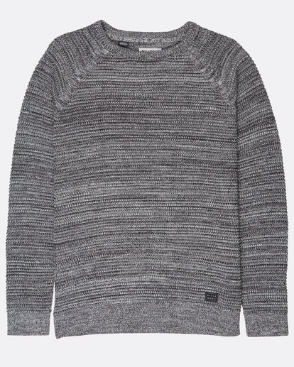 0 Broke Raglan Sweater Gris L1JP06BIF8 Billabong