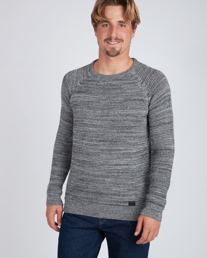 2 Broke Raglan Sweater Gris L1JP06BIF8 Billabong