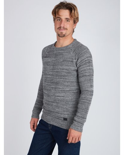 3 Broke Raglan Sweater Gris L1JP06BIF8 Billabong