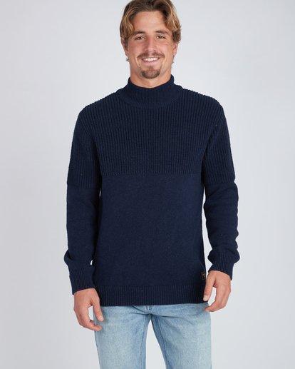 3 Coxos Recycled Denim Sweater Bleu L1JP10BIF8 Billabong