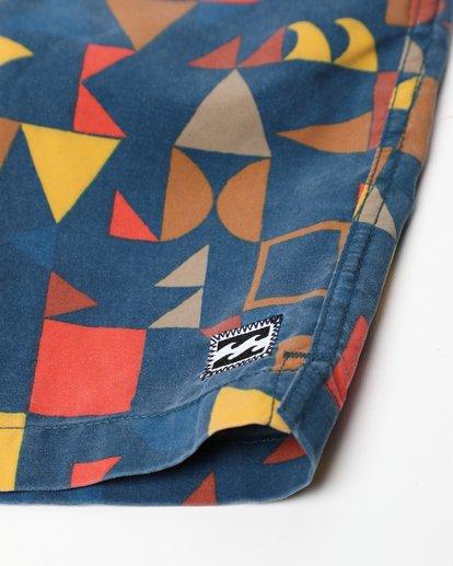 3 Sundays Layback 16'' Boardshorts Bleu L1LB01BIF8 Billabong