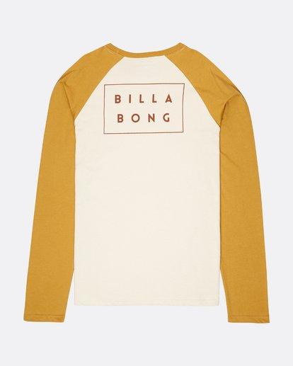 1 Die Cut Long Sleeve T-Shirt  L1LS02BIF8 Billabong