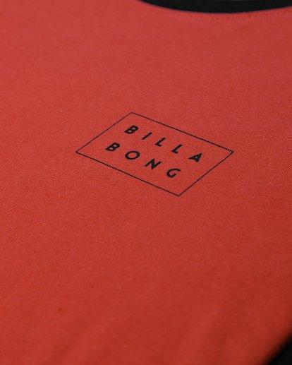2 Die Cut Long Sleeve T-Shirt Rouge L1LS02BIF8 Billabong