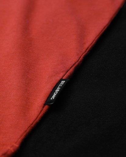 3 Die Cut Long Sleeve T-Shirt Rouge L1LS02BIF8 Billabong