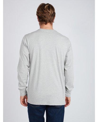 4 Guardiant Long Sleeve T-Shirt Gris L1LS04BIF8 Billabong