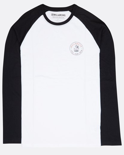 0 Cali Baja Long Sleeve T-Shirt Blanc L1LS05BIF8 Billabong