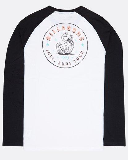 1 Cali Baja Long Sleeve T-Shirt Blanc L1LS05BIF8 Billabong