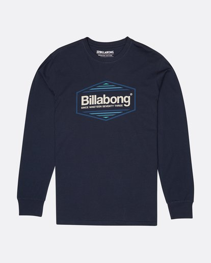 0 Pacific Long Sleeve T-Shirt Blue L1LS06BIF8 Billabong
