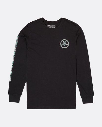 0 Mexi Cali Long Sleeve T-Shirt Noir L1LS07BIF8 Billabong
