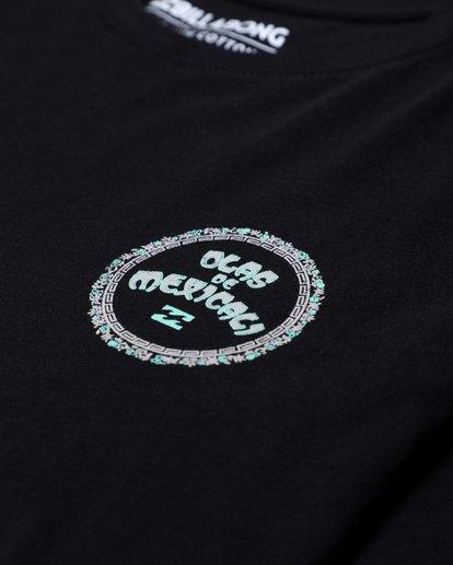 2 Mexi Cali Long Sleeve T-Shirt Noir L1LS07BIF8 Billabong