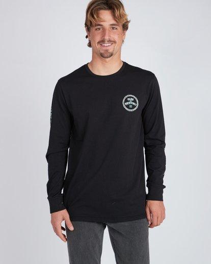 5 Mexi Cali Long Sleeve T-Shirt Noir L1LS07BIF8 Billabong