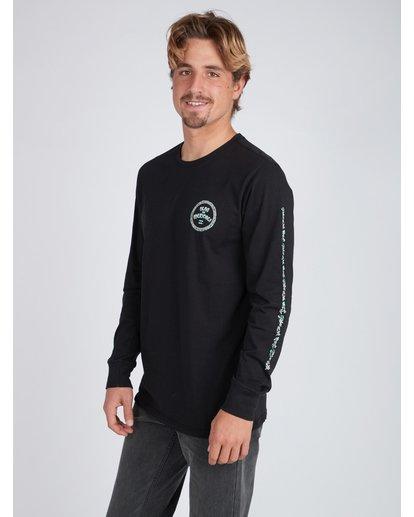 6 Mexi Cali Long Sleeve T-Shirt Noir L1LS07BIF8 Billabong