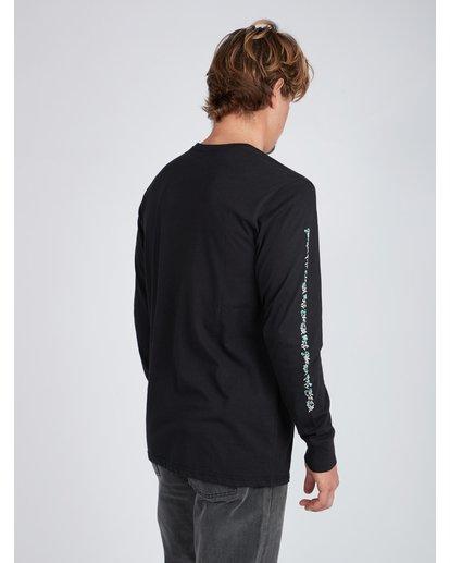 7 Mexi Cali Long Sleeve T-Shirt Noir L1LS07BIF8 Billabong