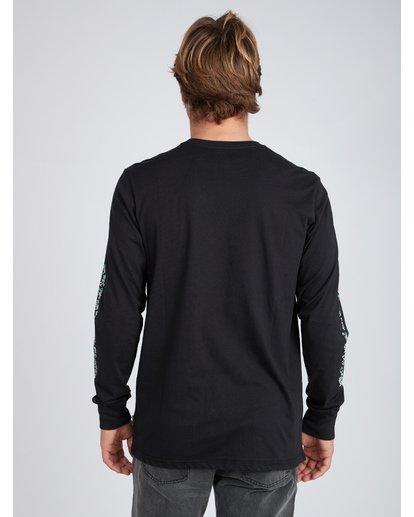 8 Mexi Cali Long Sleeve T-Shirt Noir L1LS07BIF8 Billabong
