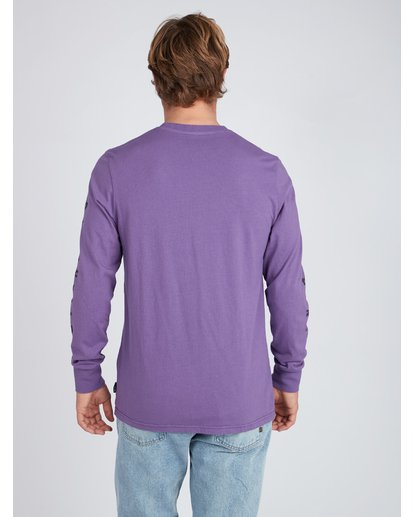 5 Heritage Long Sleeve T-Shirt Violet L1LS08BIF8 Billabong