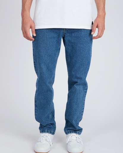 2 Fifty Straight Fit Jeans Bleu L1PN01BIF8 Billabong