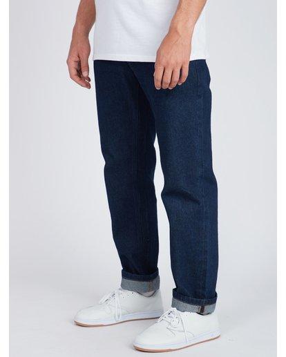 6 Fifty Straight Fit Jeans Blue L1PN01BIF8 Billabong