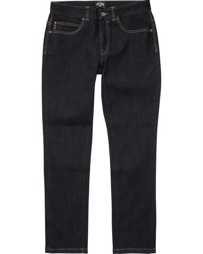 6 Outsider Slim Fit Jeans Blau L1PN02BIF8 Billabong