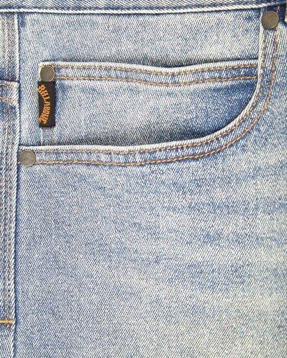 3 Outsider Slim Fit Jeans Bleu L1PN02BIF8 Billabong