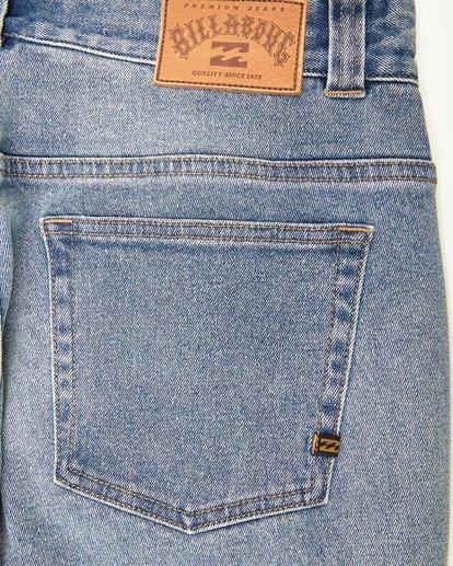 4 Outsider Slim Fit Jeans Bleu L1PN02BIF8 Billabong