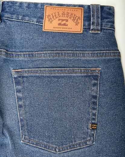 3 Outsider - Jean for Men White L1PN02BIF8 Billabong