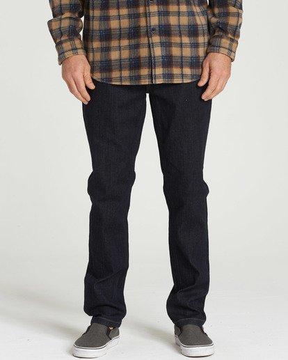 2 Outsider - Jeans für Männer Blau L1PN02BIF8 Billabong
