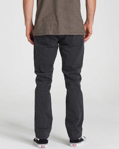 3 Outsider - Jeans für Männer Schwarz L1PN02BIF8 Billabong