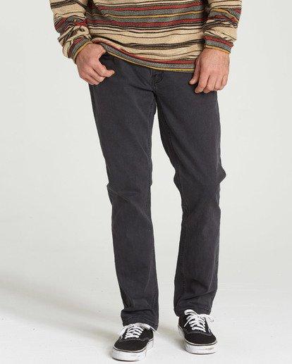 2 Outsider - Jeans für Männer Schwarz L1PN02BIF8 Billabong