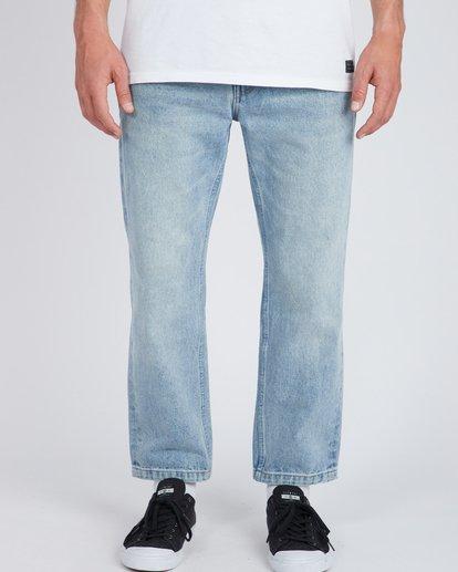 2 Fifty Cropped Straight Fit Jeans Bleu L1PN03BIF8 Billabong