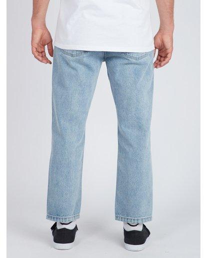 4 Fifty Cropped Straight Fit Jeans Blau L1PN03BIF8 Billabong