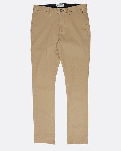 0 New Order Chino Pants Gris L1PT01BIF8 Billabong