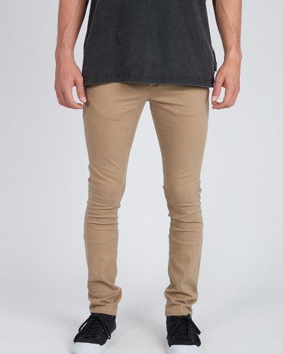 3 New Order Chino Pants Gris L1PT01BIF8 Billabong