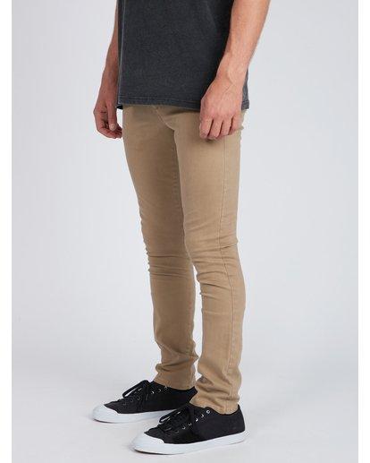 4 New Order Chino Pants Gris L1PT01BIF8 Billabong