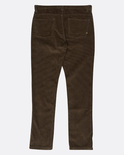 1 Outsider Corduroy Slim Fit Pants Marron L1PT02BIF8 Billabong