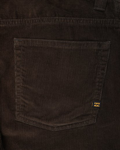 4 Outsider Corduroy Slim Fit Pants Marron L1PT02BIF8 Billabong