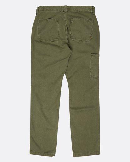 1 Collins Work Wear Twill Pants  L1PT04BIF8 Billabong