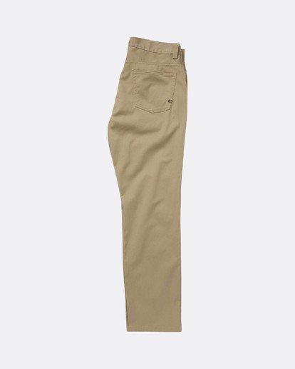 1 Fifty Work Wear Twill Pants Vert L1PT05BIF8 Billabong