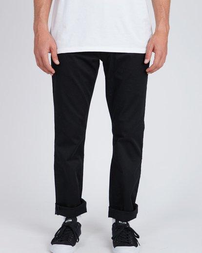 2 Fifty Work Wear Twill Pants Noir L1PT05BIF8 Billabong