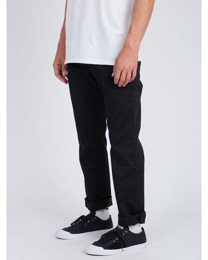 3 Fifty Work Wear Twill Pants Noir L1PT05BIF8 Billabong