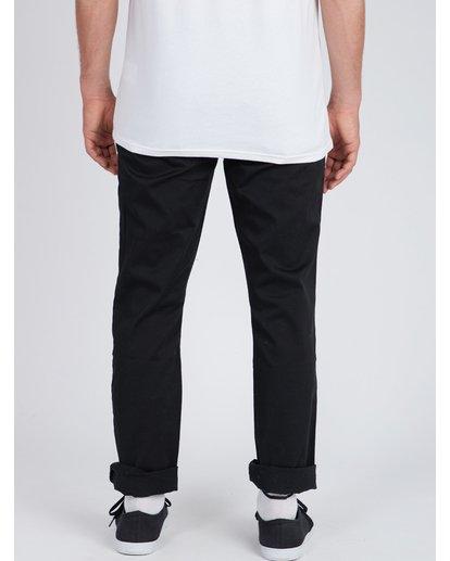4 Fifty Work Wear Twill Pants Noir L1PT05BIF8 Billabong