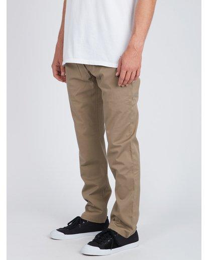 3 Fifty Work Wear Twill Pants Vert L1PT05BIF8 Billabong