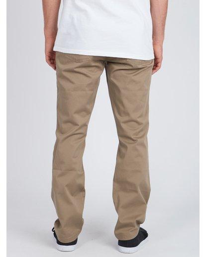 4 Fifty Work Wear Twill Pants Vert L1PT05BIF8 Billabong