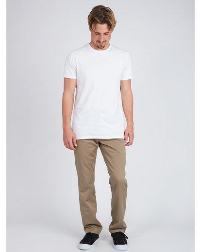 5 Fifty Work Wear Twill Pants Vert L1PT05BIF8 Billabong