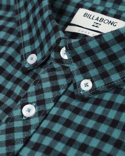 1 Doyle Flannel Long Sleeve Shirt Noir L1SH02BIF8 Billabong