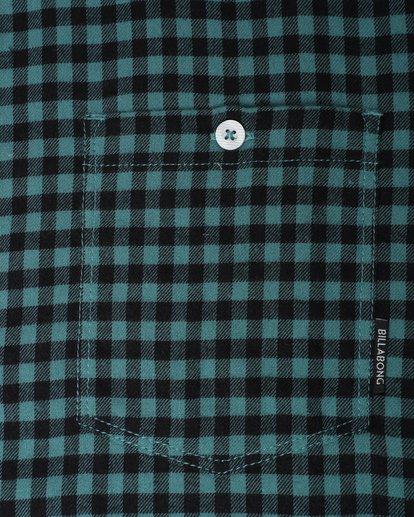 2 Doyle Flannel Long Sleeve Shirt Noir L1SH02BIF8 Billabong