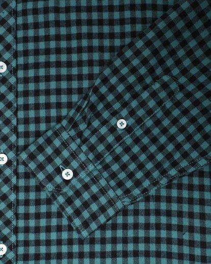 3 Doyle Flannel Long Sleeve Shirt Noir L1SH02BIF8 Billabong