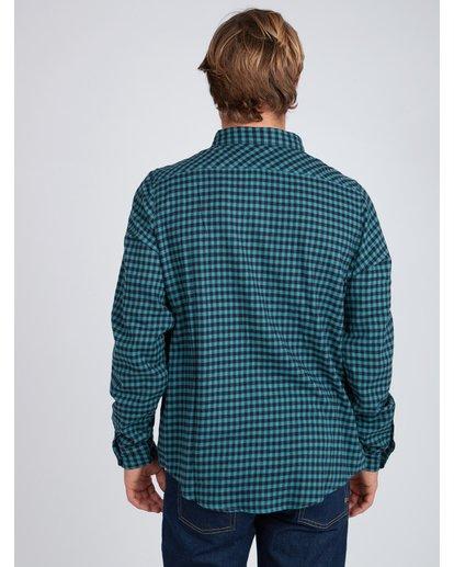 6 Doyle Flannel Long Sleeve Shirt Noir L1SH02BIF8 Billabong