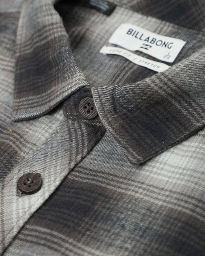 1 Coastline Flannel Shirt Noir L1SH04BIF8 Billabong