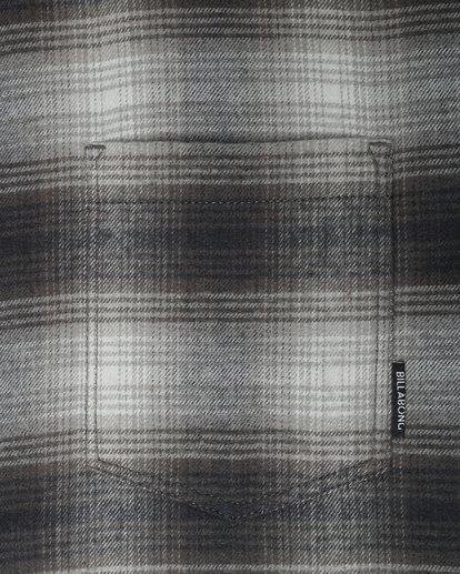 2 Coastline Flannel Shirt Noir L1SH04BIF8 Billabong