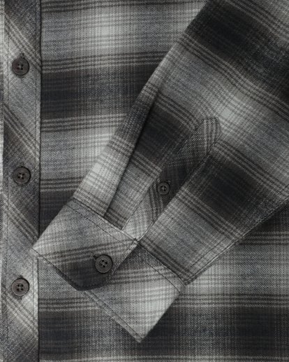 3 Coastline Flannel Shirt Noir L1SH04BIF8 Billabong